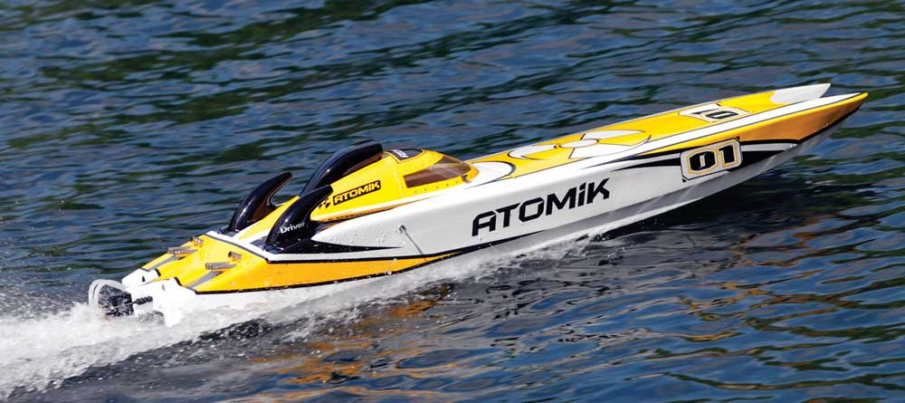 Atomik RC A.R.C. 58-Inch Electric Racing Cat - RC Boat Magazine on rc race sponsors, rc race parts, rc race trailers, rc race engines,
