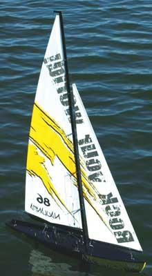 Thunder Tiger Naulantia 1M Yacht