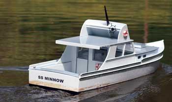 Project: Scratch-Built S.S. Minnow