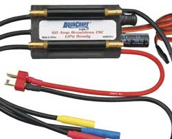 Aquacraft 60A Marine Brushless ESC