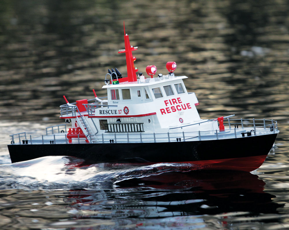 Review: Aquacraft Rescue 17 Fireboat