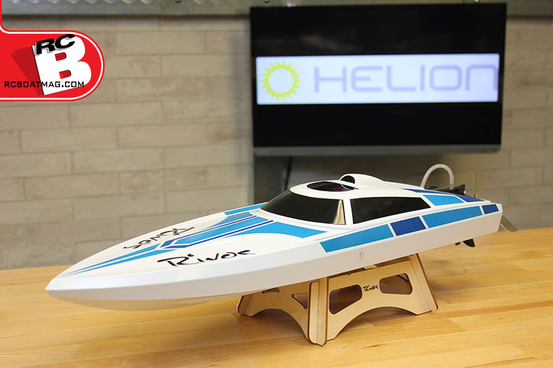 Helion Rivos RTR Electric Boat