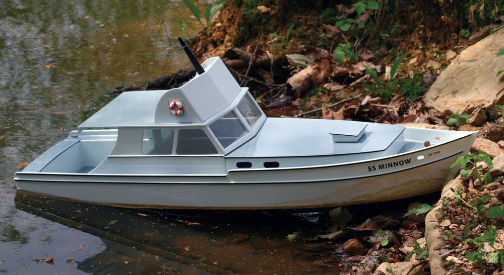 Project: Scratch-Built S.S. Minnow - RC Boat Magazine